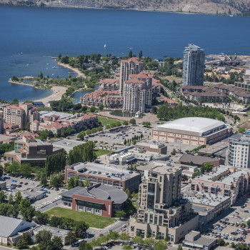 Downtown Kelowna Offers a variety of dining & entertainment options
