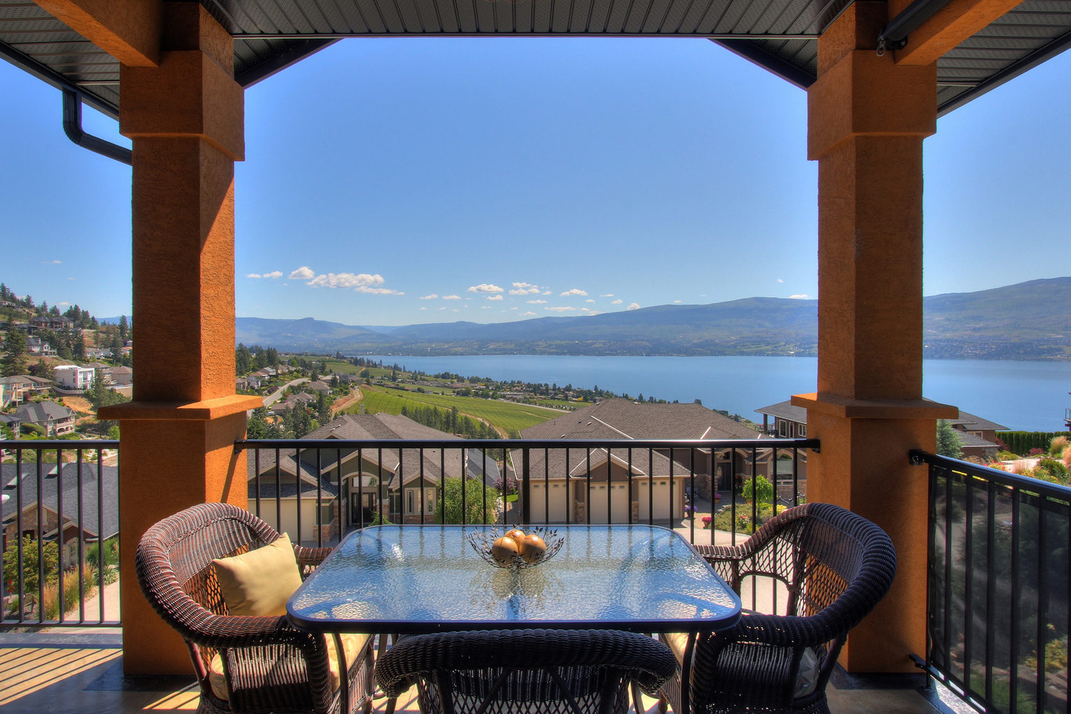 West Kelowna Estate-Deck