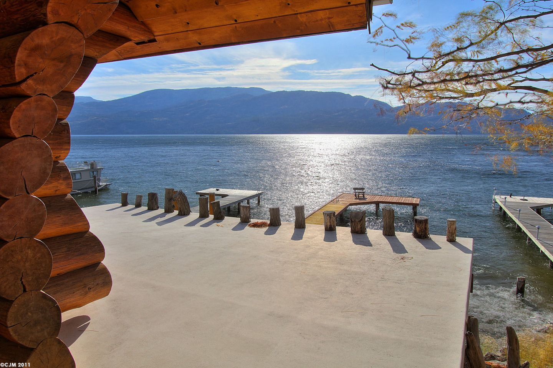 View of okanagan lake from Peachland