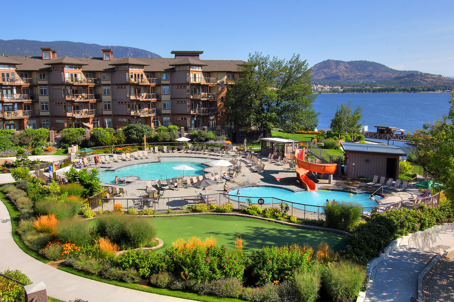 434 4205 Gellatly Road West Kelowna Lakeshore Condo
