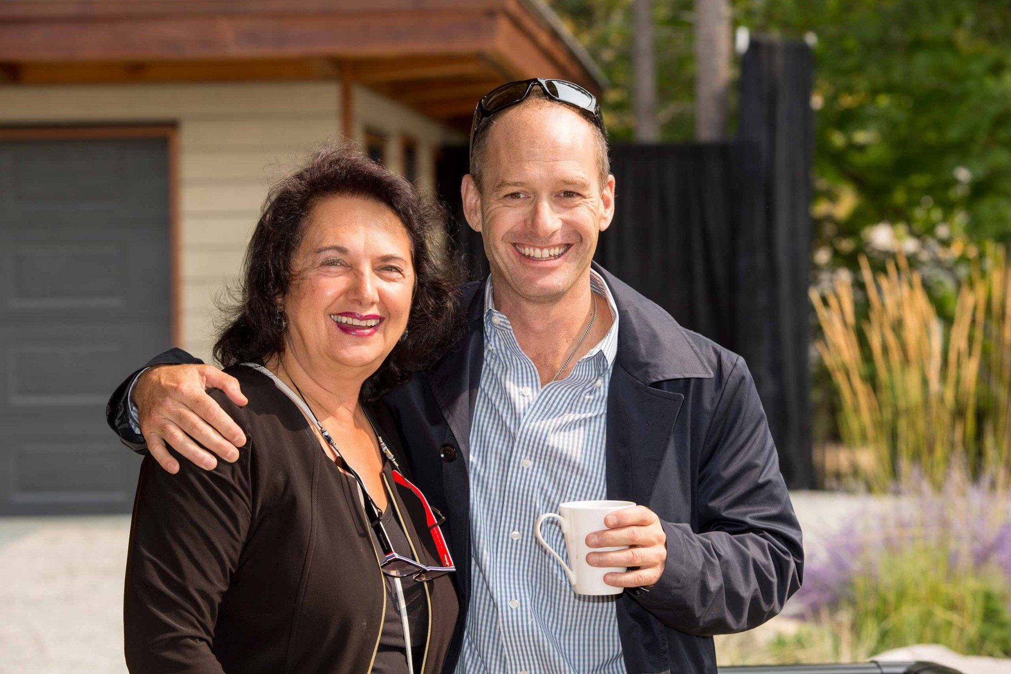 Jane Hoffman and Alec Lambert real estate auction