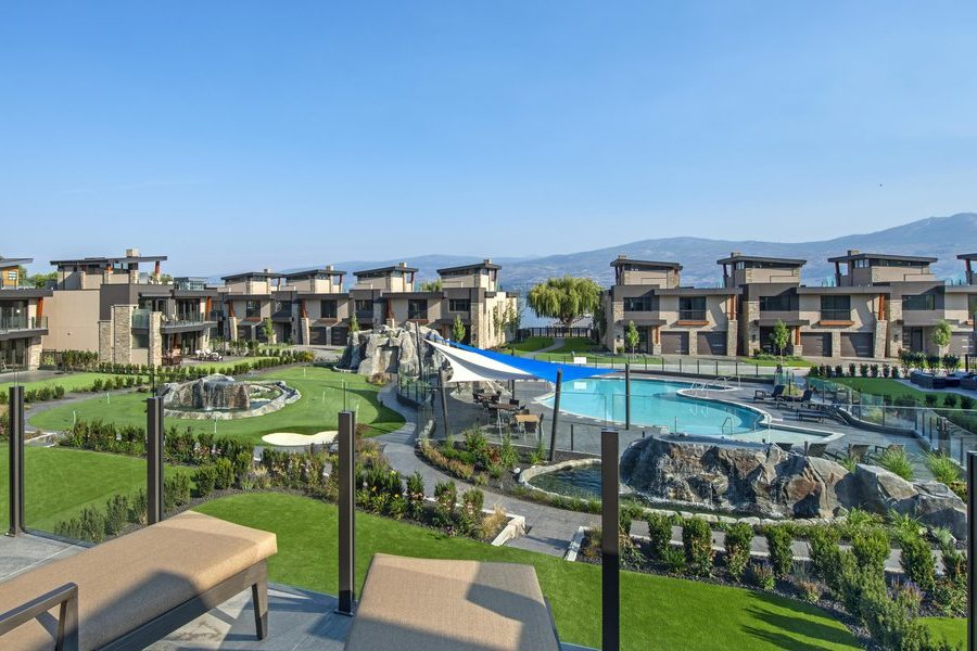 Paradise Estates Pool and Beach West Kelowna