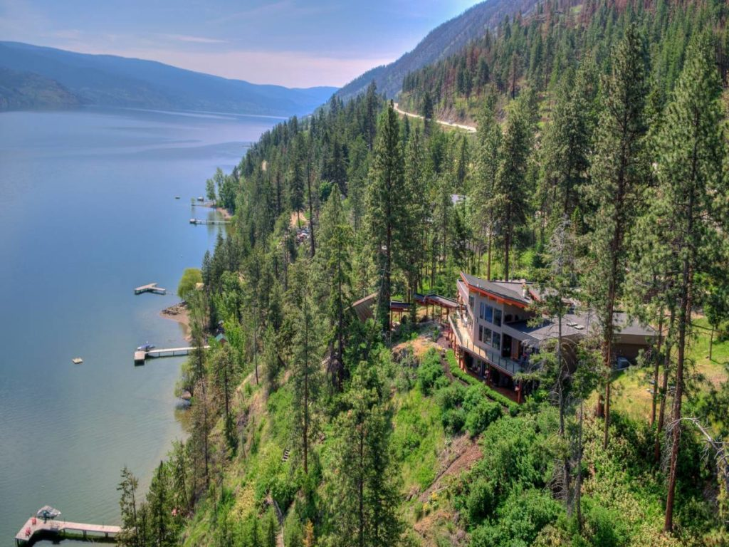 Peachland BC Waterfront Estate