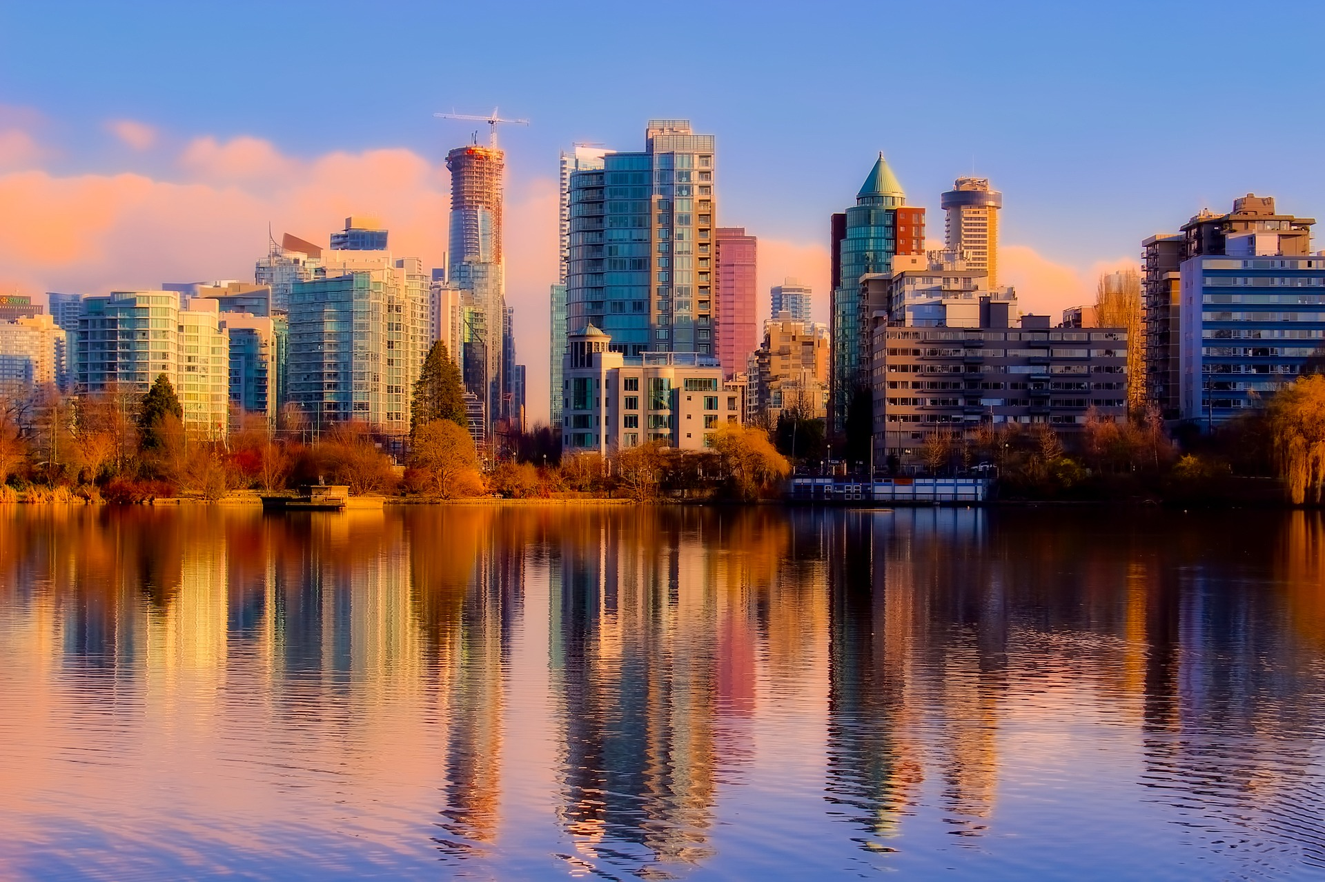 View of Vancouver Skyline